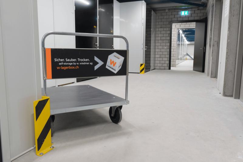 Moderne self-storage Lagerboxen mit vielen Vorzügen