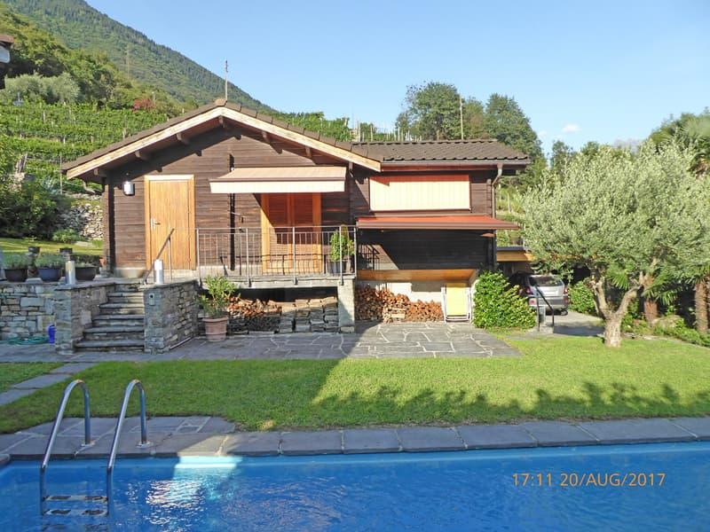 Chalet di vacanza con piscina / Ferien-Chalet mit Schwimmbad