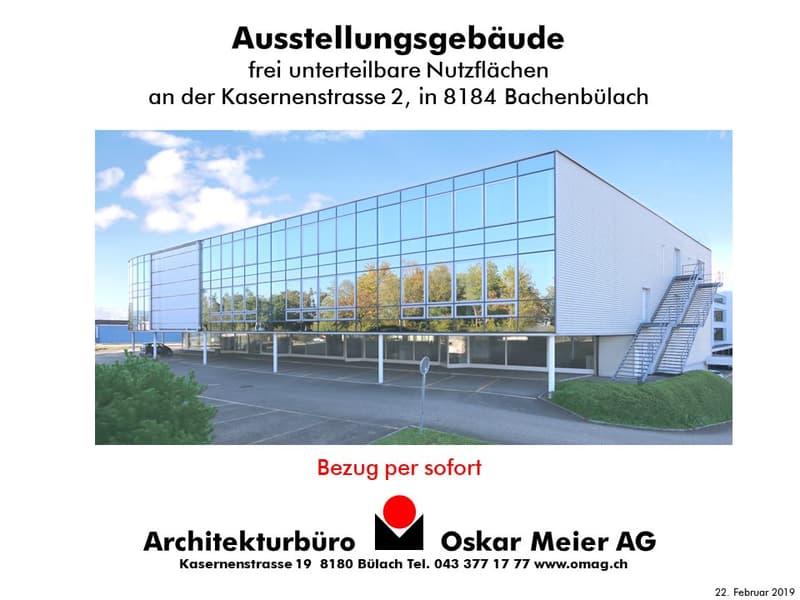 Ausstellungs- & Gewerbeflächen