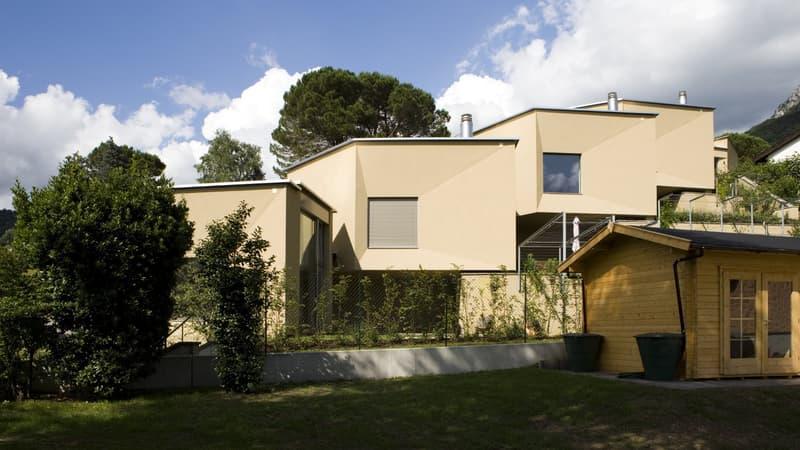 Moderno appartamento di 3.5 locali con splendido giardino