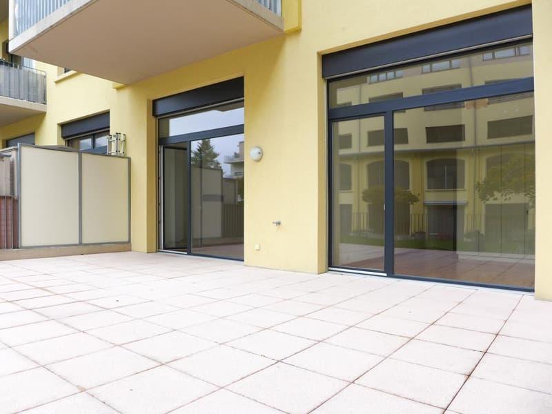 Terrasse de 44 m2 entièrement privative