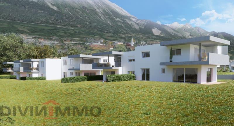 Belle villa contemporaine dans lotissement entouré de verdure