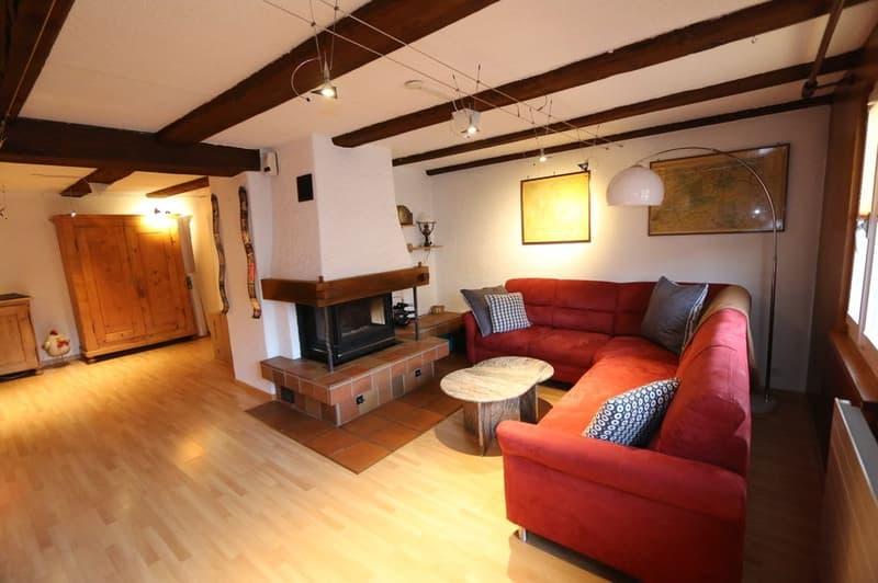 Schöne 4.5 Zimmer Wohnung mit viel Charme