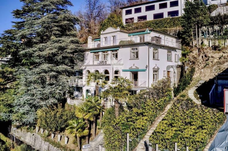 Renommierte Villa in Ruvigliana mit Blick auf den Luganersee