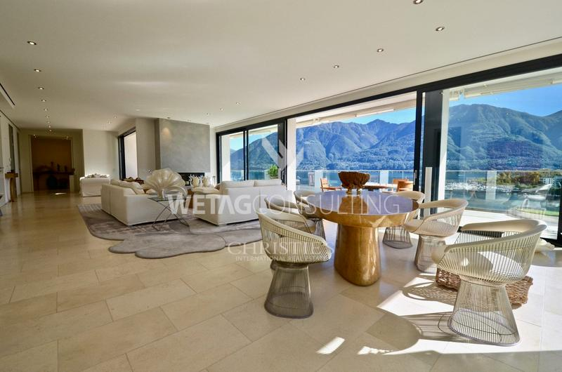 Traumhafte Penthouse-Wohnung an absoluter Bestlage in Locarno