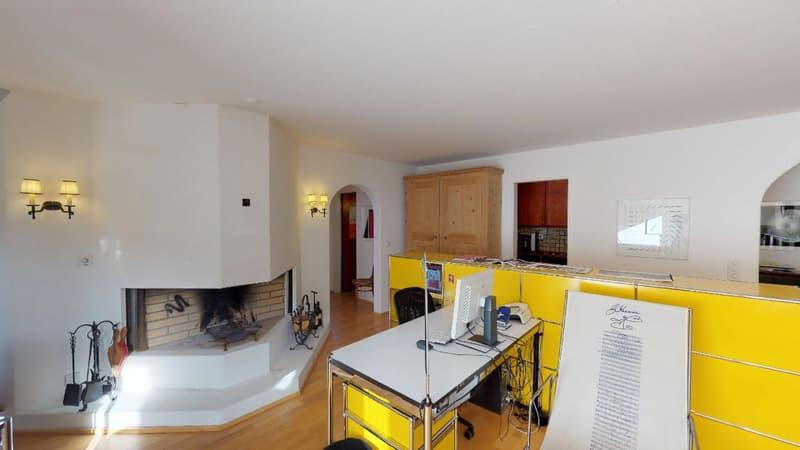 3.5 Zimmer-Wohnung im Zentrum von St.Moritz / auch als Büro geeignet