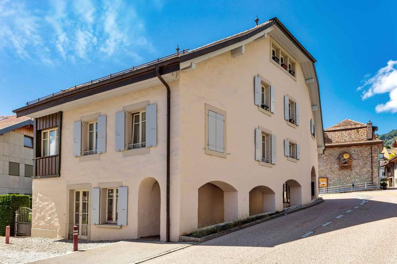 Magnifique appartement de 4.5 pièces à vendre au centre du village de Corseaux