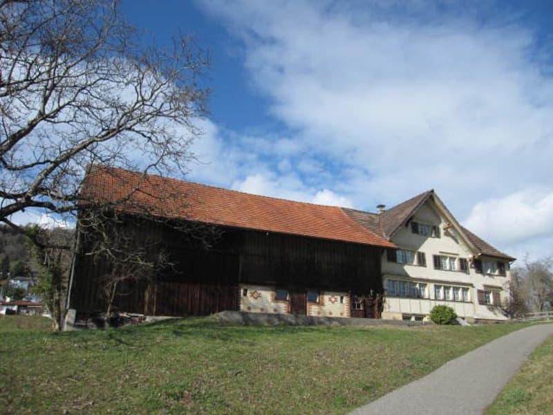 Einmalige Aussichtslage über dem Ortszentrum von Abtwil