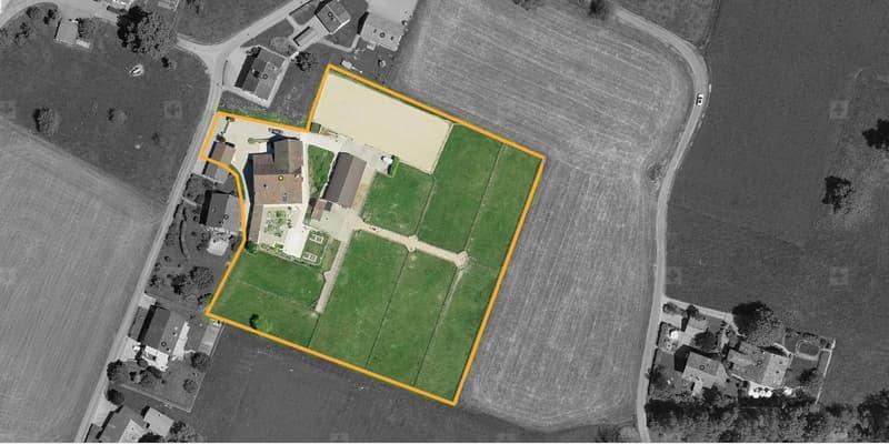 Magnifique propriété équestre construite sur un terrain de 10'600 m²