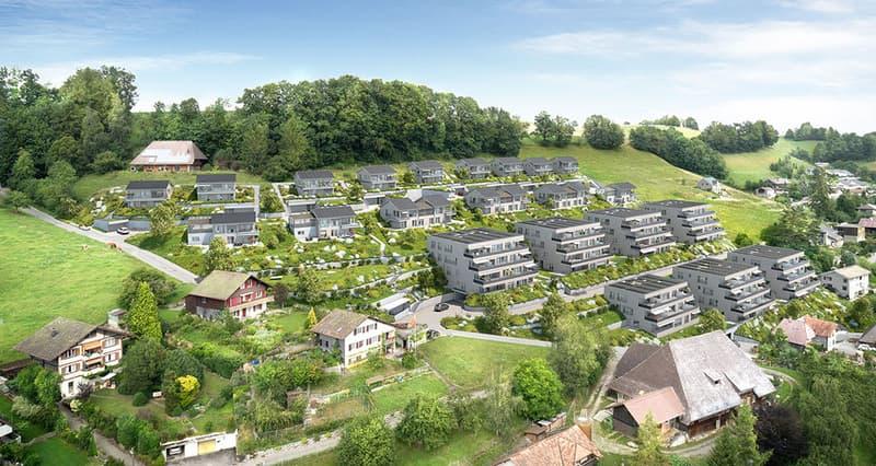 Tolle 3.5 Zimmer Eigentumswohnung im ersten Energiequartier der Schweiz