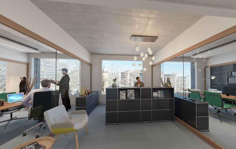LYON 77 - Bureaux neufs de 665 m²