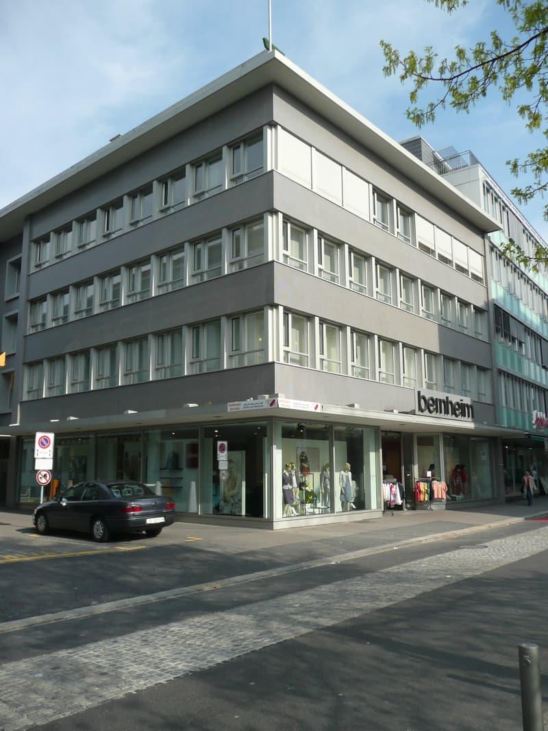 Die Ladenfläche im Stadtzentrum von Aarau