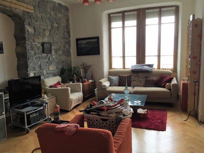 3 pces de 90 m2 à Montreux