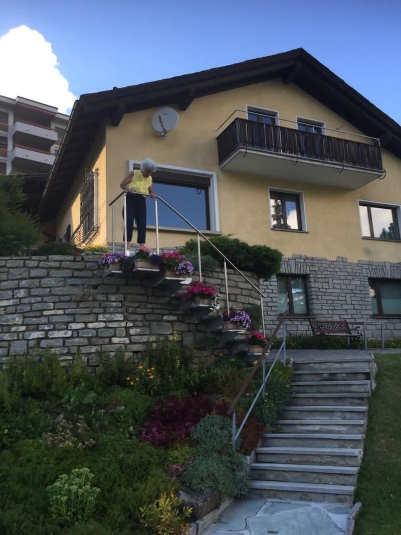 Dachwohnung mit Balkon und freier Seeischt