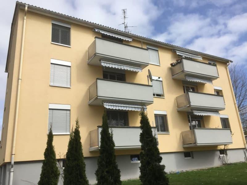 Kompakte 3 Zimmerwohnung mit Balkon