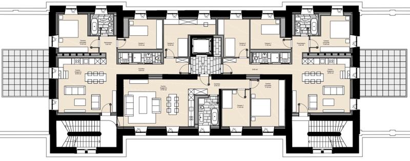 In locazione appartamento C - 4 1/2 locali 1P - Stazione FFS Locarno (2)