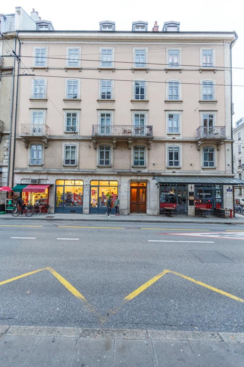 Eaux-Vives - 3 Pièces rénové dans Immeuble Bourgeois