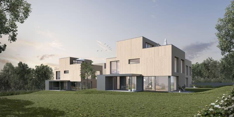 Einfamilienhaus für die junge Familie - Baubeginn erfolgt