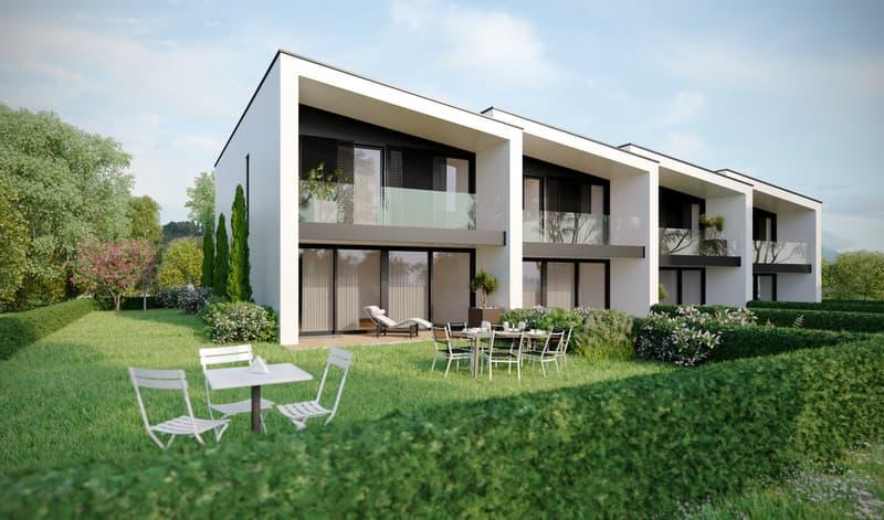 Veyrier, Promotion de 4 belles villas contemporaines HPE