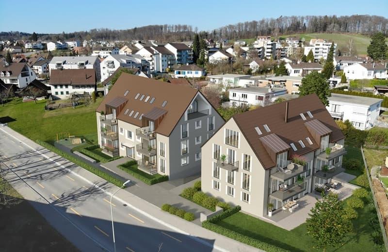 Neubau: Exklusive Gartenwohnung in Nürensdorf, steuergünstig