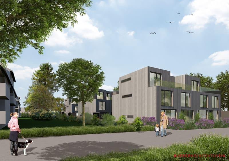 Wohnen im Kleegarten Neubau 5-Zimmer-Reihenhaus Haus B2