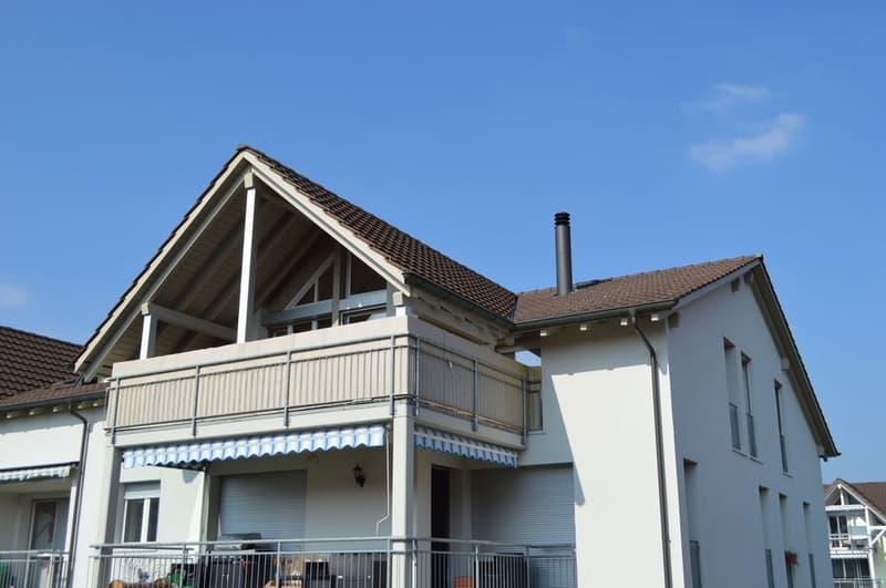 Grosse familienfreundliche  5 ½ Zi-Dachwohnung in Fischbach-Göslikon