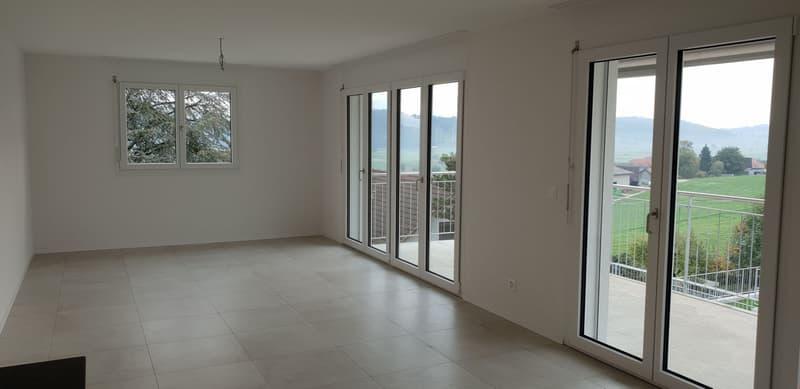 Erstvermietung 5.5-Zimmer-Duplexwohnung mit zwei Balkonen