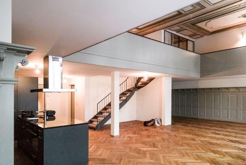 Loft 3.5 Zimmer Duplex GalerieWHG über Restaurant Bären