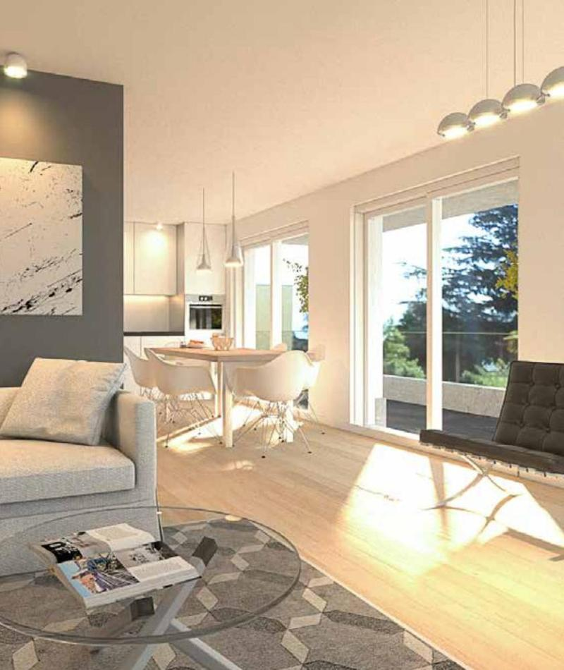 Collina d'Oro: Nuova edificazione - appartamenti in pronta consegna