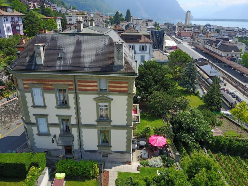 Charmant 3.5 pièces aux combles en plein coeur de Montreux