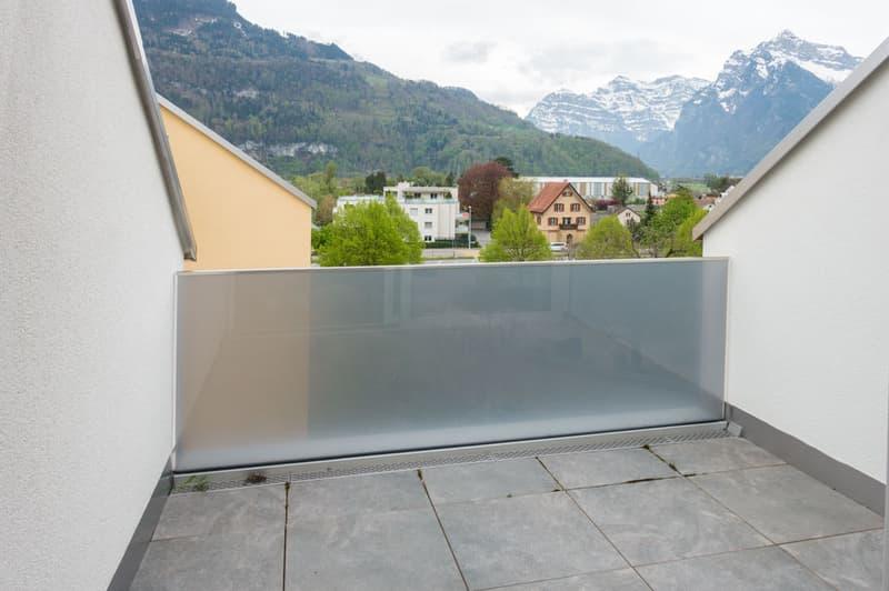 Terrasse mit wunderschöner Aussicht