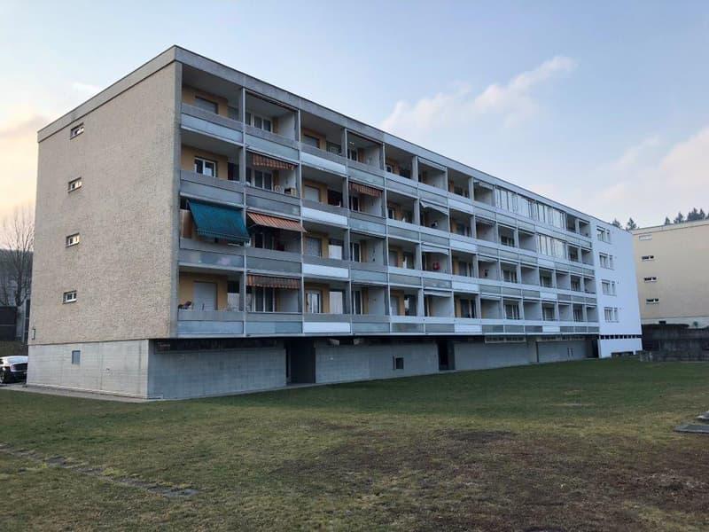 gemütliche 2 1/2-Zimmerwohnung, 3. Stock links