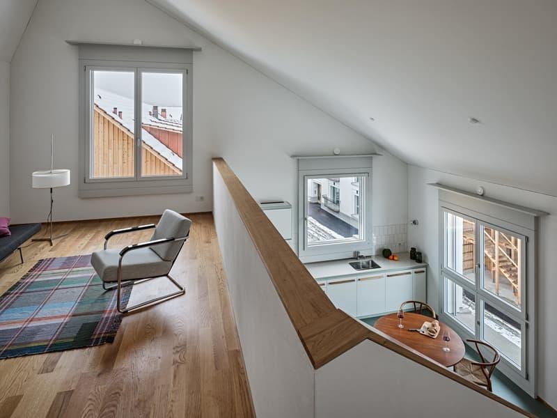 Helle Dachmaisonette-Wohnung mit viel Platz