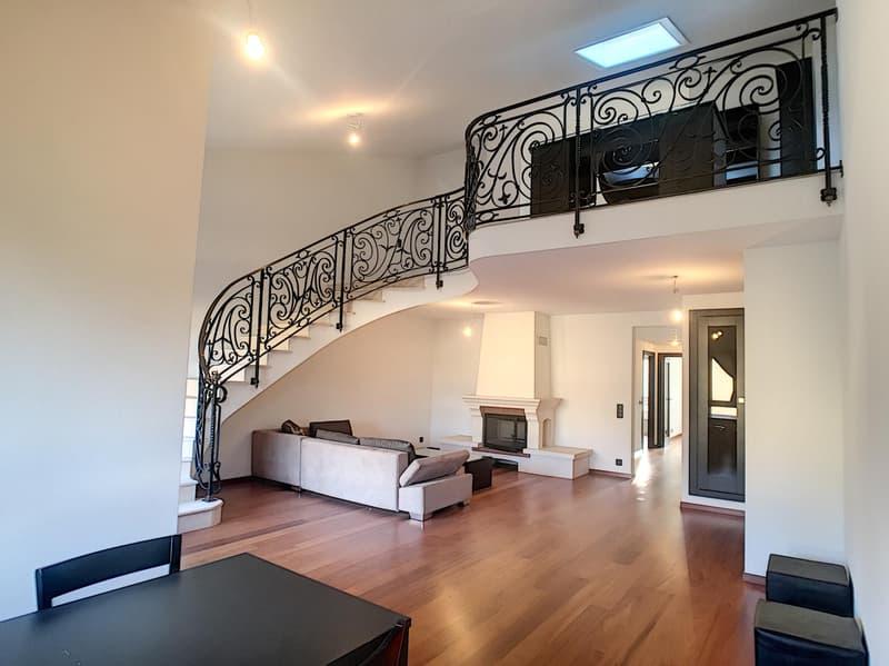 Cologny - magnifique duplex récemment rénové, au calme