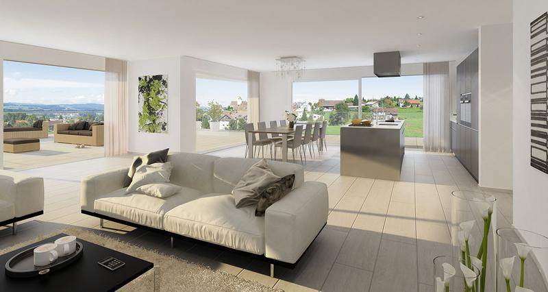 Neubau Sonnwiese Terrassenhaus 5.5-Zimmer (3)