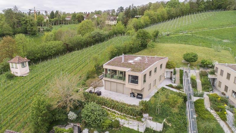 Einzigartige Luxuswohnung am Goldenberg über der Stadt Winterthur