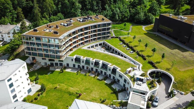 Luftaufnahme Mountain Suites