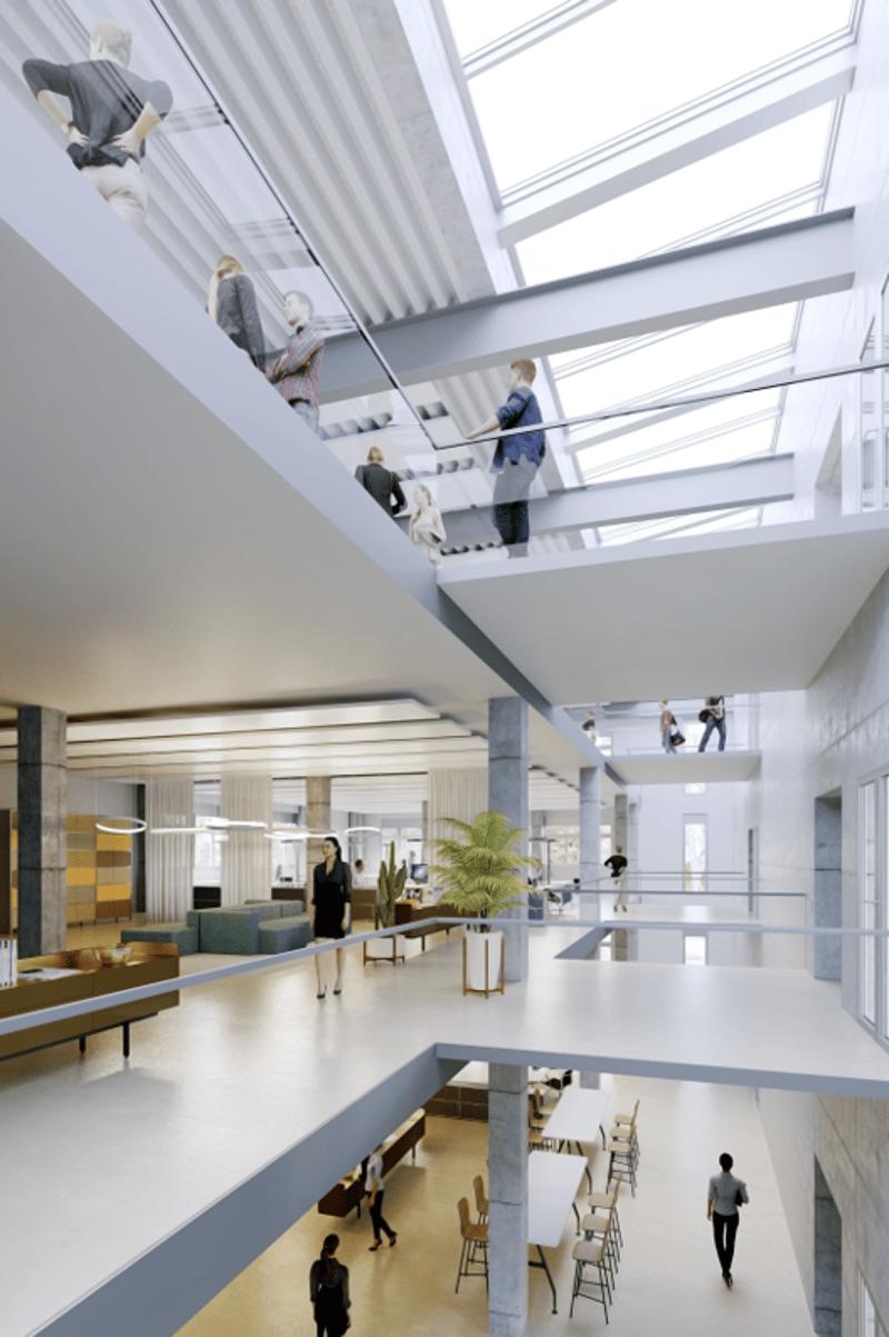 Visualisierung möglicher Innenausbau