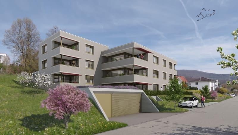 Helle Erdgeschosswohnung - Erstbezug am Hüslimattweg, Küttigen