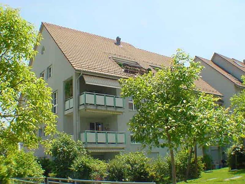 Schöne Wohnung in grüner und ruhiger Umgebung