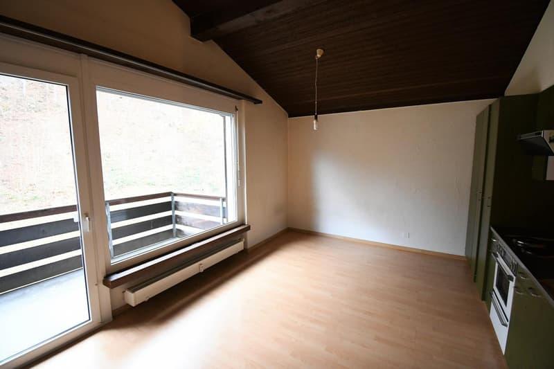 Hohe Räume - frisch gestrichen, bezugsbereit