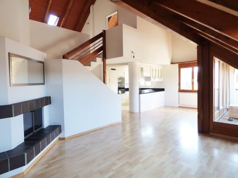 Gemütliche Dachwohnung auf zwei Etagen (2)