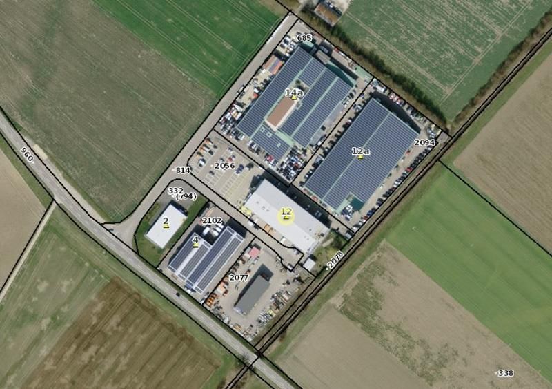 Halles de 130m2 et/ou bureaux