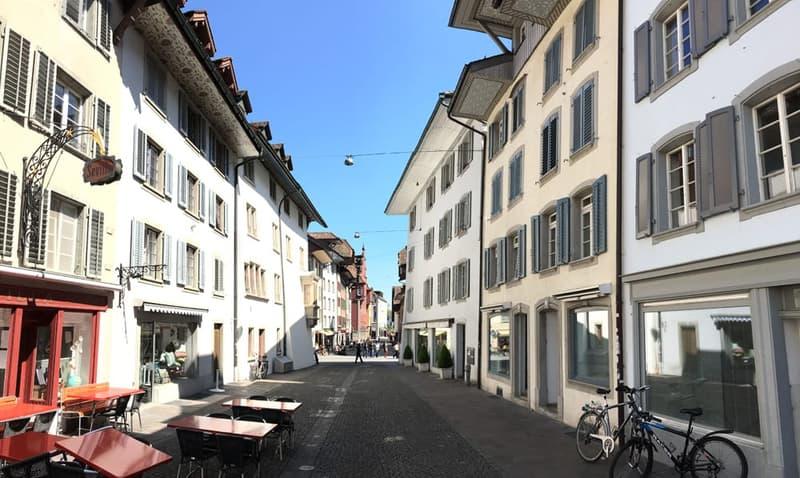 Aussergewöhnliche 2.5-Zimmer-Altstadtwohnung im Herzen von Aarau