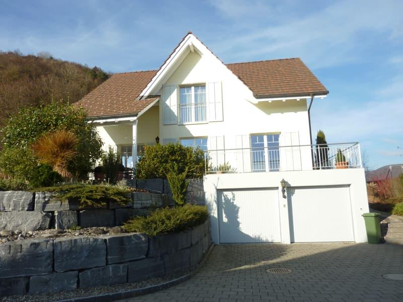 Neuwertiges 6.5-Zimmer-Traumhaus in Beringen, erstklassige Lage