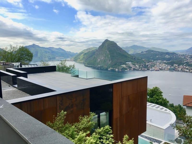 Villa Sole - Moderna Villa di Lusso con Piscina e Vista Lago di Lugano