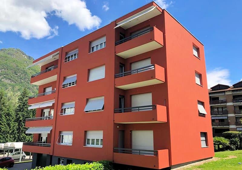 Appartamento completamento rinnovato a soli 10 minuti da Bellinzona