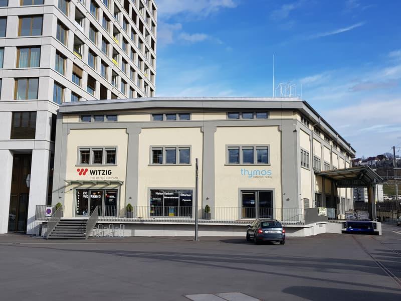 Gewerbe / Ausstellungsräume direkt beim Bahnhof Lenzburg