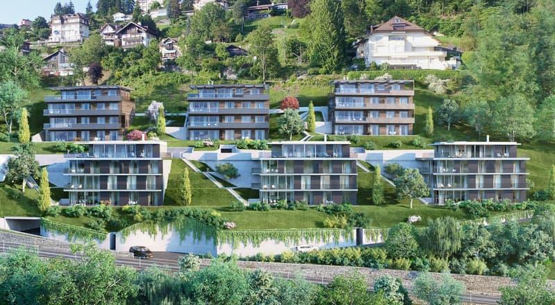 4 pièces de standing avec jardin de 120m2 et accès par ascenseur privatif/ High standard 3 bedroom apartment with 120m2 garden and acces by private elevator (4)