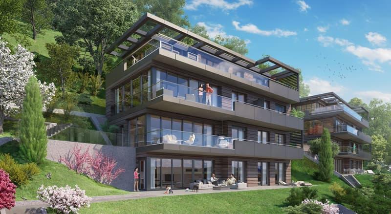 4 pièces de standing avec jardin de 120m2 et accès par ascenseur privatif/ High standard 3 bedroom apartment with 120m2 garden and acces by private elevator (3)